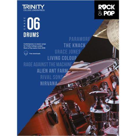 TCL TRINITY COLLEGE LONDON ROCK POP 2018 DRUMS Grade 6