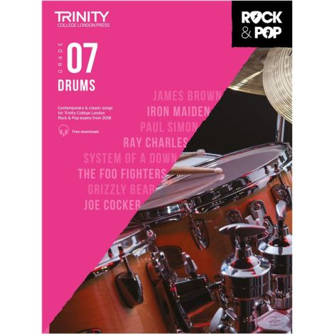 TCL TRINITY COLLEGE LONDON ROCK POP 2018 DRUMS Grade 7
