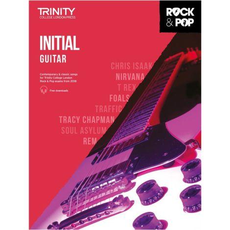 TCL TRINITY COLLEGE LONDON ROCK POP GUITAR INITIAL 2018-2020