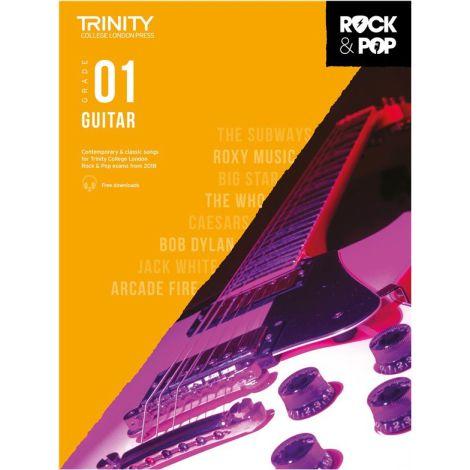 TCL TRINITY COLLEGE LONDON ROCK POP GUITAR 1 2018-2020