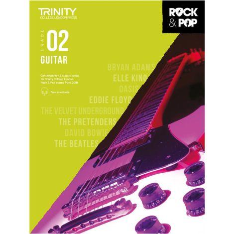 TCL TRINITY COLLEGE LONDON ROCK POP GUITAR 2 2018-2020