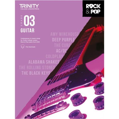 TCL TRINITY COLLEGE LONDON ROCK POP GUITAR 3 2018-2020