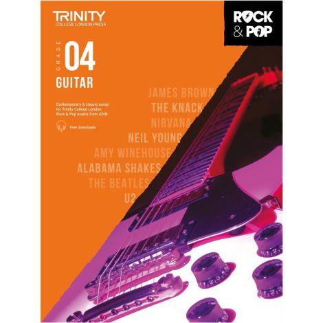TCL TRINITY COLLEGE LONDON ROCK POP GUITAR 4 2018-2020