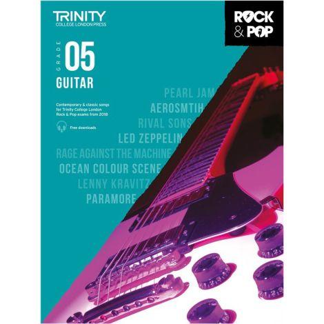 TCL TRINITY COLLEGE LONDON ROCK POP GUITAR 5 2018-2020