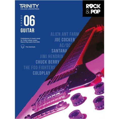 TCL TRINITY COLLEGE LONDON ROCK POP GUITAR 6 2018-2020