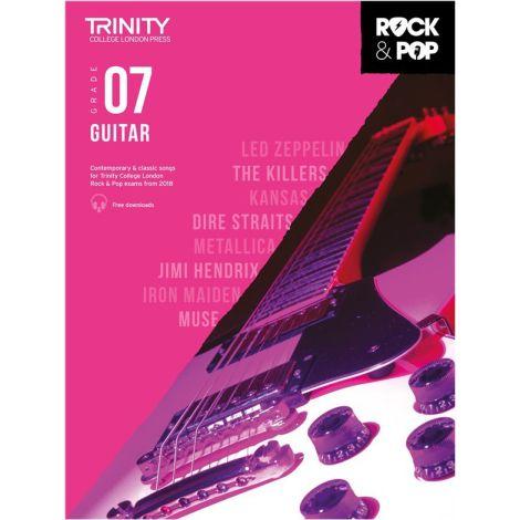 TCL TRINITY COLLEGE LONDON ROCK POP GUITAR 7 2018-2020