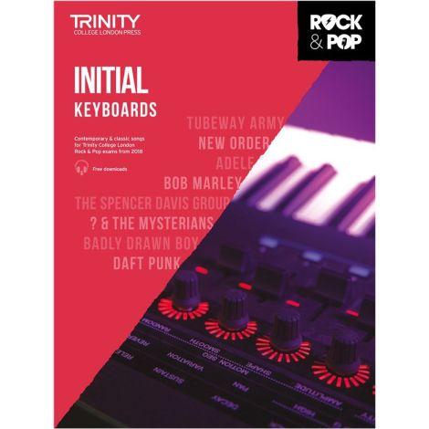 TCL TRINITY COLLEGE LONDON ROCK POP KEYBOARD INITIAL 2018-2020