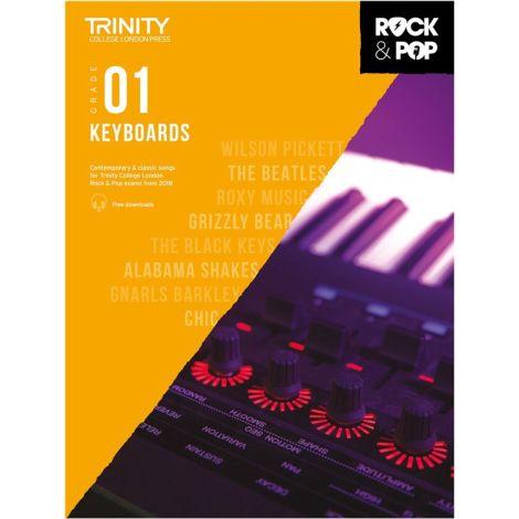 TCL TRINITY COLLEGE LONDON ROCK POP KEYBOARD 1 2018-2020