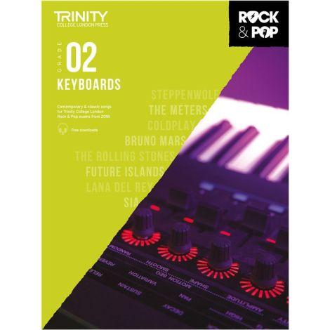 TCL TRINITY COLLEGE LONDON ROCK POP KEYBOARD 2 2018-2020