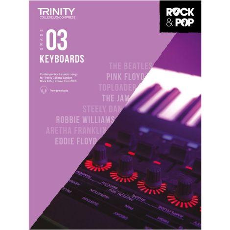 TCL TRINITY COLLEGE LONDON ROCK POP KEYBOARD 3 2018-2020