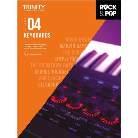 TCL TRINITY COLLEGE LONDON ROCK POP KEYBOARD 4 2018-2020