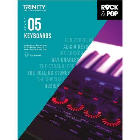 TCL TRINITY COLLEGE LONDON ROCK POP KEYBOARD 5 2018-2020