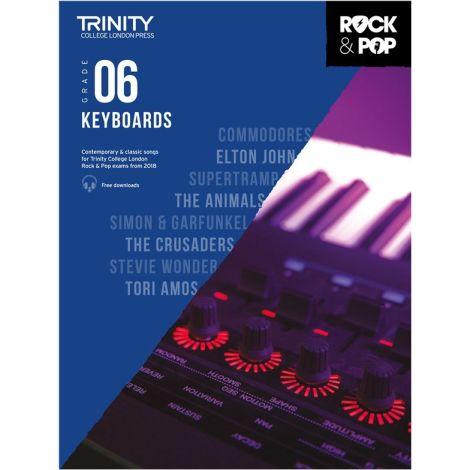 TCL TRINITY COLLEGE LONDON ROCK POP KEYBOARD 6 2018-2020