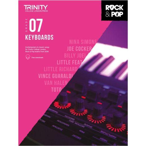 TCL TRINITY COLLEGE LONDON ROCK POP KEYBOARD 7 2018-2020
