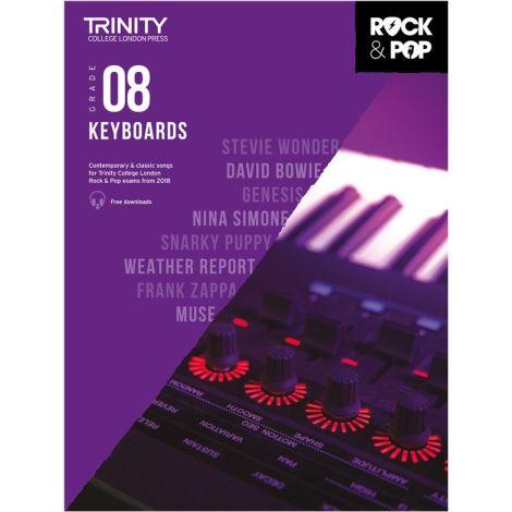 TCL TRINITY COLLEGE LONDON ROCK POP KEYBOARD 8 2018-2020