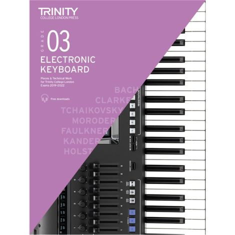 TCL TRINITY COLLEGE LONDON ELECTRONIC KEYBOARD 3 2019-2020