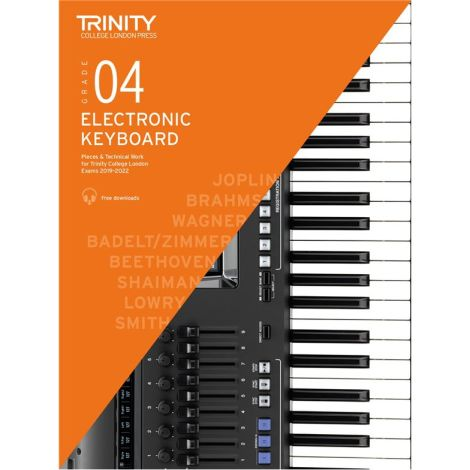 TCL TRINITY COLLEGE LONDON ELECTRONIC KEYBOARD 4 2019-2020