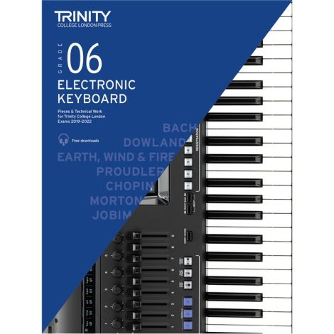 TCL TRINITY COLLEGE LONDON ELECTRONIC KEYBOARD 6 2019-2020
