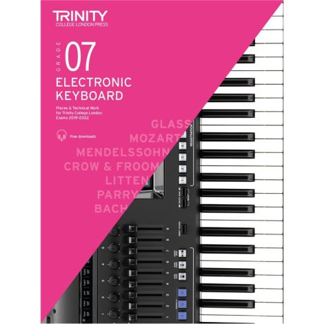 TCL TRINITY COLLEGE LONDON ELECTRONIC KEYBOARD 7 2019-2020