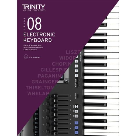 TCL TRINITY COLLEGE LONDON ELECTRONIC KEYBOARD 8 2019-2020
