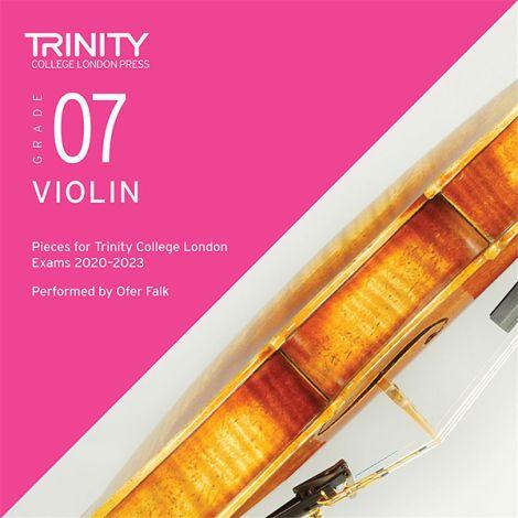 Trinity College London Violin Exam Pieces 2020-2023: Grade 7 CD