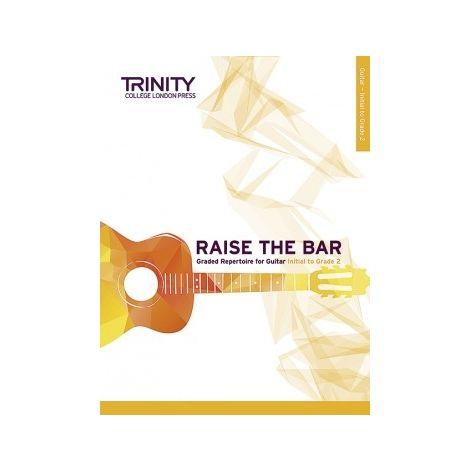 TCL Trinity College London Raise the Bar Guitar book 1 (Initial - Grade 2)