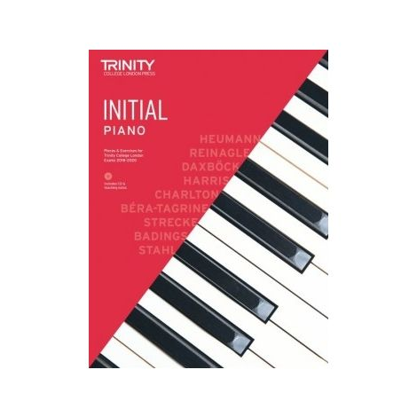 TCL Trinity College London Piano Initial book & CD 2018 - 2020