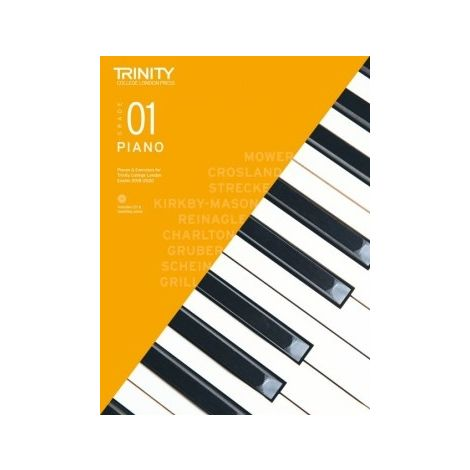 TCL Trinity College London Piano Grade 1 book & CD 2018 - 2020