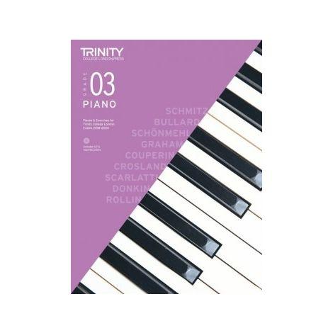 TCL Trinity College London Piano Grade 3 book & CD 2018 - 2020