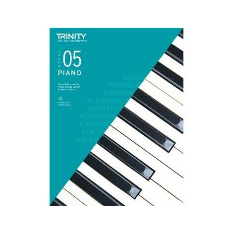 TCL Trinity College London Piano Grade 5 book & CD 2018 - 2020