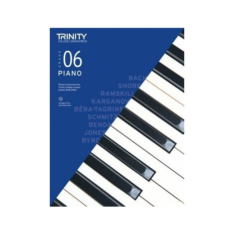 TCL Trinity College London Piano Grade 6 book & CD 2018 - 2020