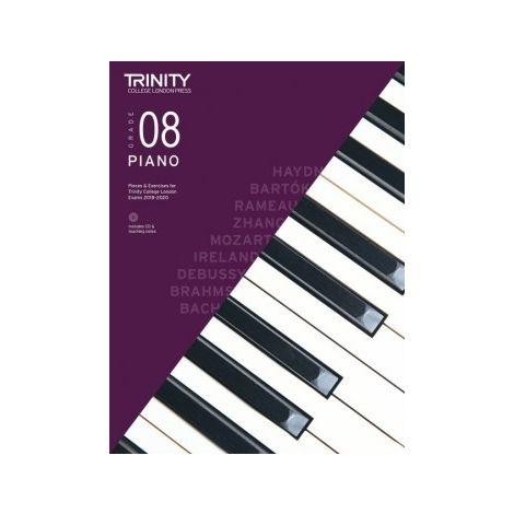 TCL Trinity College London Piano Grade 8 book & CD 2018 - 2020