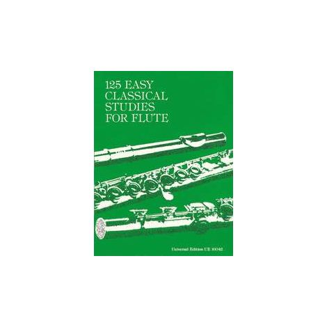 125 Easy Classical Studies for Flute Solo, ed. Frans Vester
